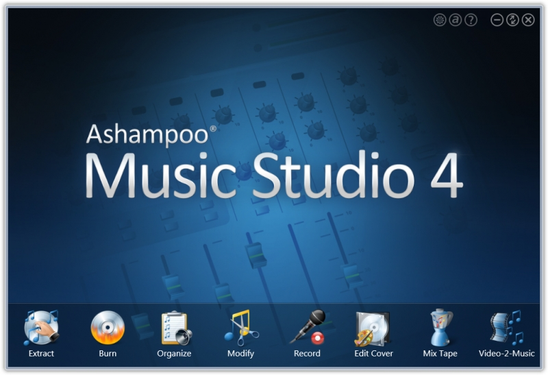 Ashampoo Music Studio 4 v4.1.2.5 Final Ml_Rus (portable)